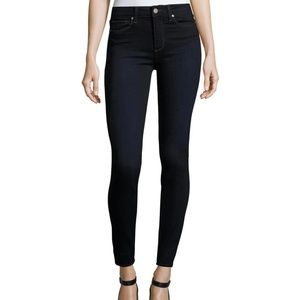 PAIGE Hoxton Ultra Skinny Jeans Dark Blue Size 30
